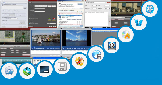 Software collection for Opera Mini Video Streaming