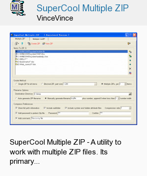SuperCool Multiple ZIP