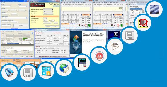 Software collection for Pipes Weight Calculations