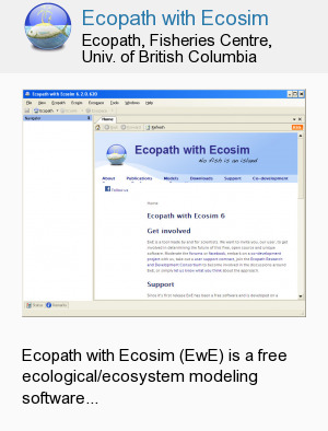 Ecopath with Ecosim