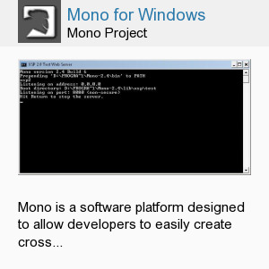 Mono for Windows