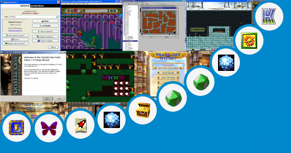 Software collection for Honey Cave 2 Game