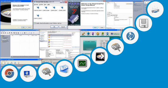Software collection for Mobi Data Edge Modem Driver
