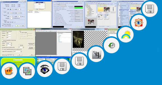 Software collection for Hp Digital Imaging Monitor