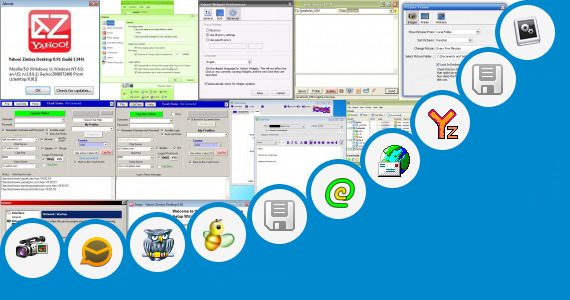 Software collection for Yahoo Mail Jar Application