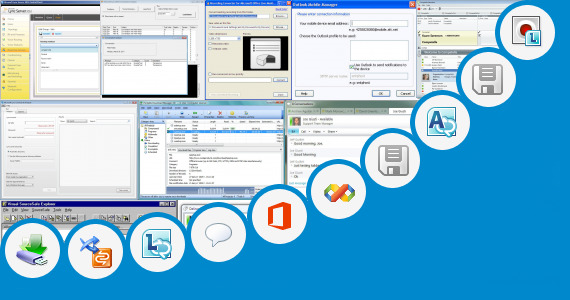 Software collection for Microsoft Lync Portable