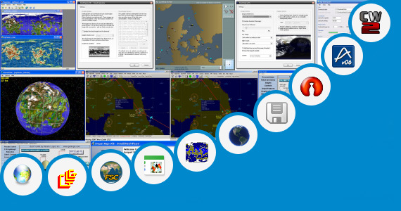 Software collection for Fake World Map Generator