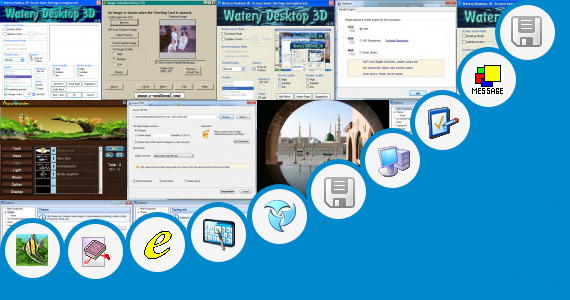 Software collection for Touch Screen Screen Saver
