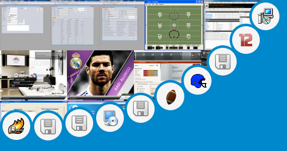 Software collection for Games Hp Football Manager 2012 2013