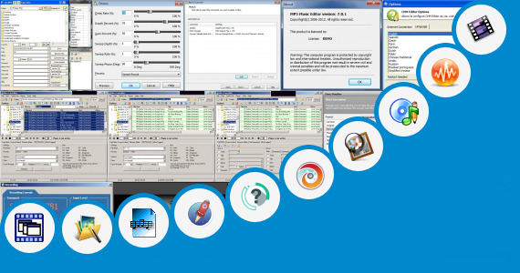 Software collection for Jersey Editor Online