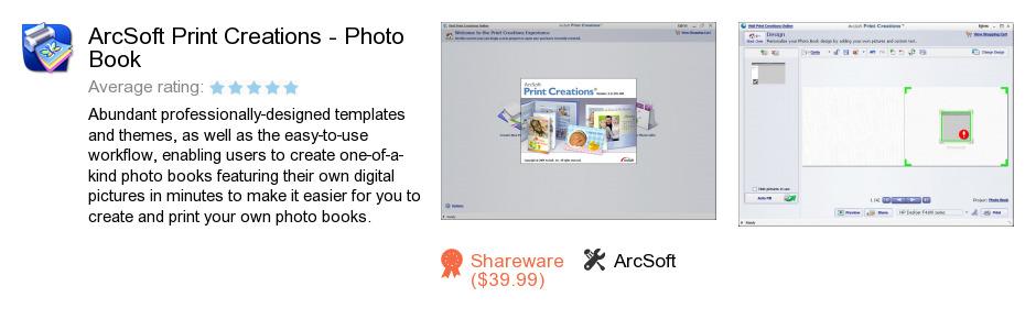 ArcSoft Print Creations - Photo Book