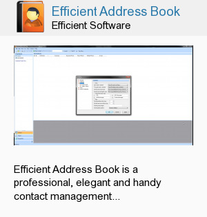 Efficient Address Book