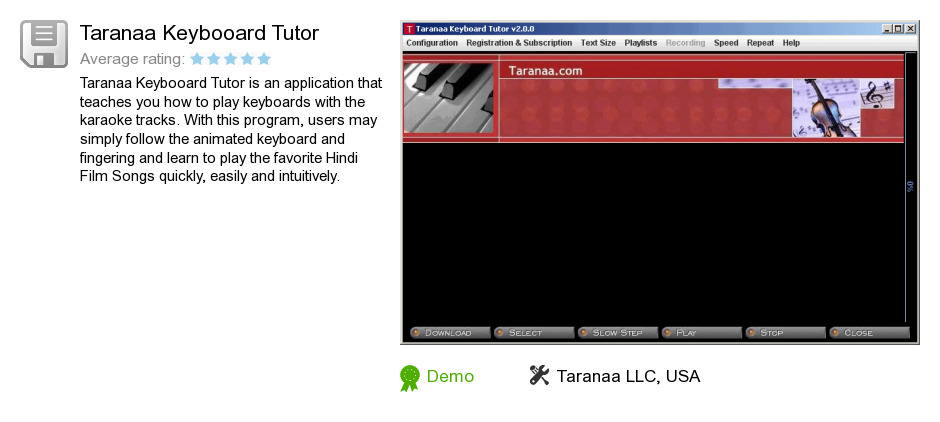 Taranaa Keybooard Tutor