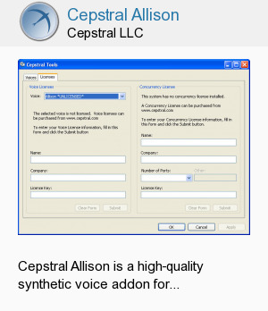 Cepstral Allison