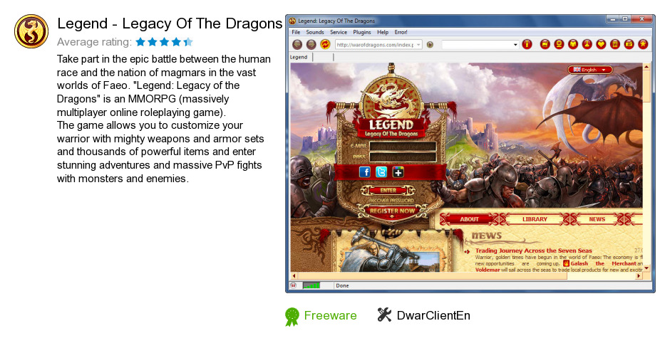 Legend - Legacy Of The Dragons
