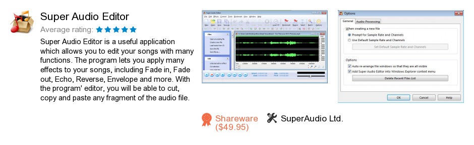 Super Audio Editor
