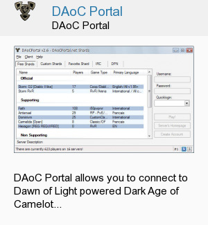 DAoC Portal