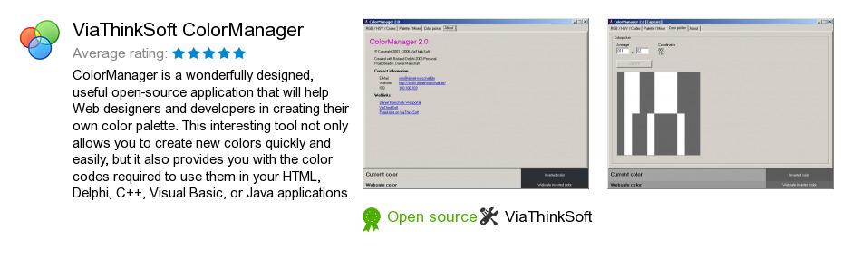 ViaThinkSoft ColorManager