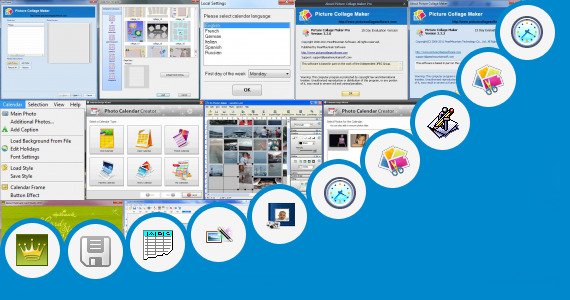 Software collection for Photo Calendar Maker For 2013