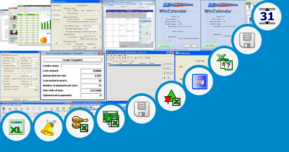 Software collection for 2013 Year Planner Template Excel
