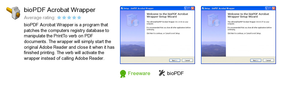 BioPDF Acrobat Wrapper