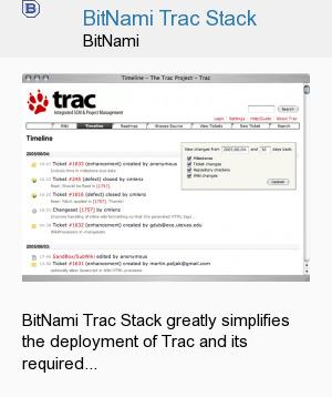 BitNami Trac Stack