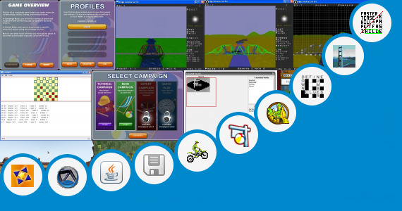 Software collection for X Construction Train Java Game