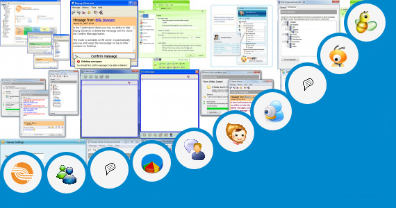Software collection for Att Q Enterprise Messenger