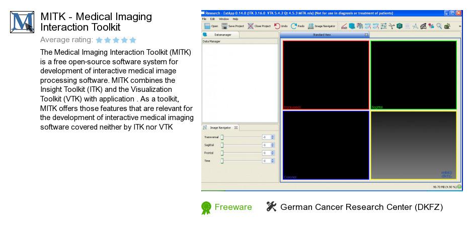 MITK - Medical Imaging Interaction Toolkit