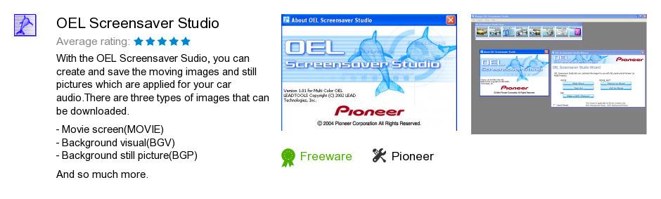 OEL Screensaver Studio
