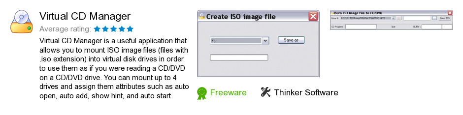 Virtual CD Manager