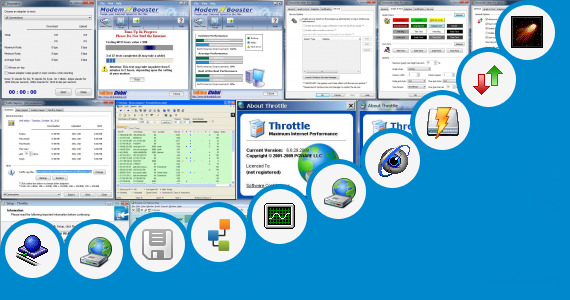 Software collection for Adsl Modem Testing Tool
