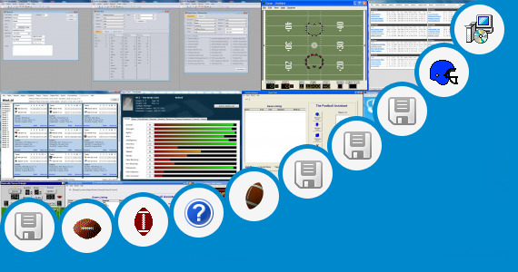 Software collection for Rate Rosters Football Software