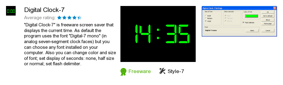 Digital Clock-7
