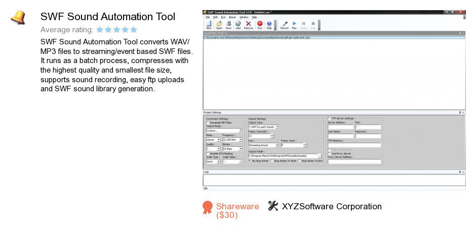 SWF Sound Automation Tool