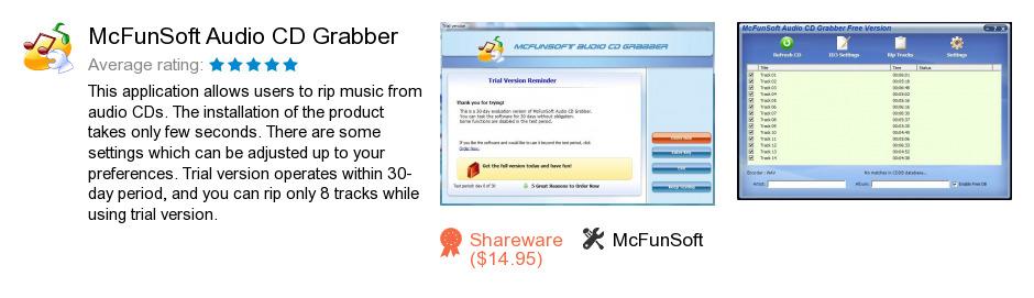 McFunSoft Audio CD Grabber