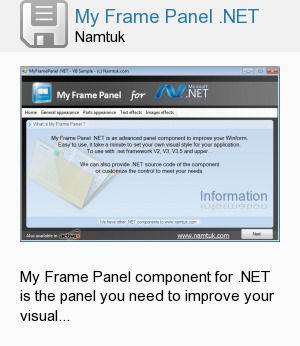 My Frame Panel .NET