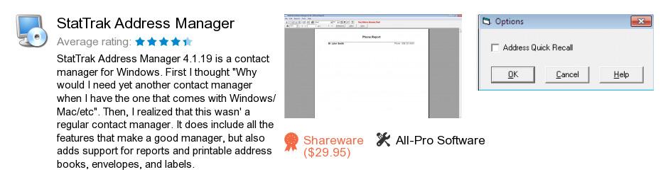 StatTrak Address Manager