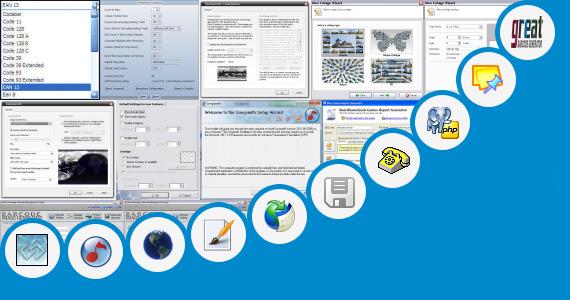 monogram background generator