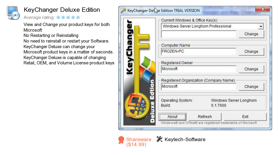 KeyChanger Deluxe Edition