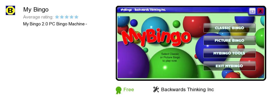 My Bingo