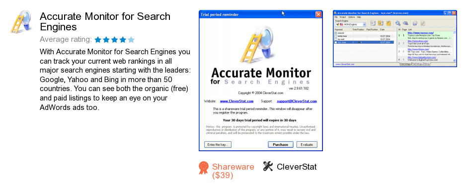 Accurate Monitor for Search Engines