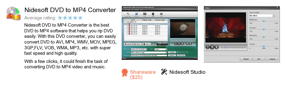 Nidesoft DVD to MP4 Converter