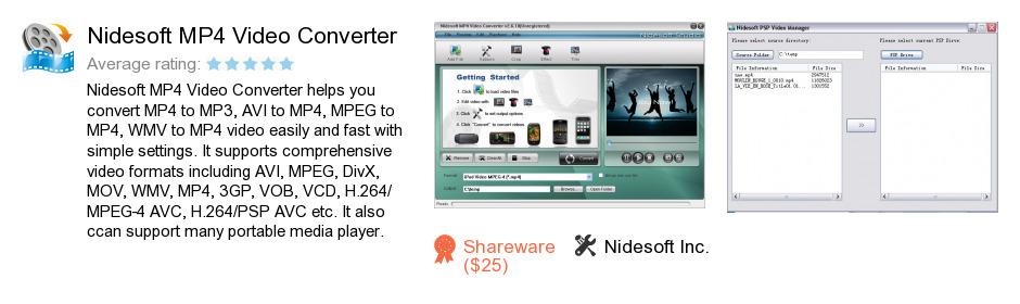 Nidesoft MP4 Video Converter
