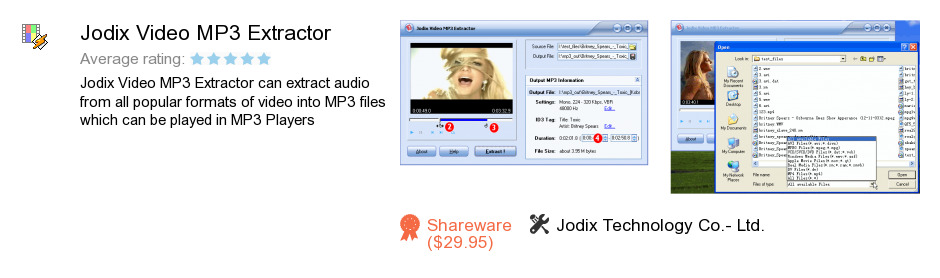 Jodix Video MP3 Extractor