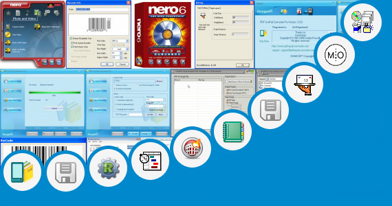 Software collection for Wine Label Making Companies
