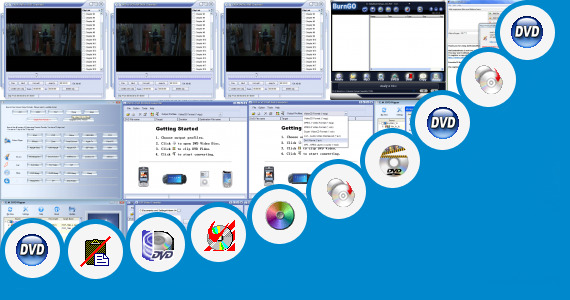 Software collection for Anti Vcd Copying