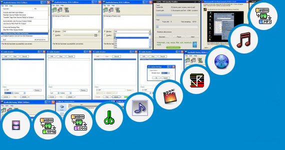 Software collection for Mp3 Bitrate Converter To 640 Kbps