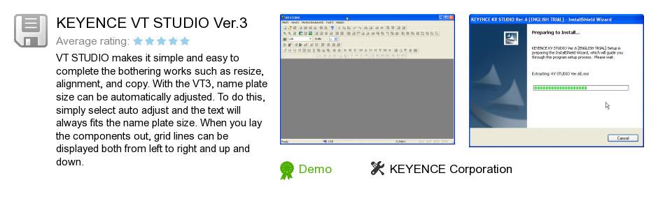 KEYENCE VT STUDIO Ver.3