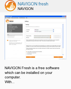 NAVIGON fresh